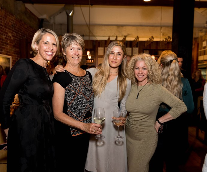 Anne Buttar, Libby Baker, Sarah Quilter, Mishi Fairbank
