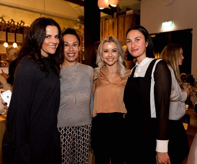 Amanda Billing, Jane Lowe, Rebekah Banks, Kara Rickard