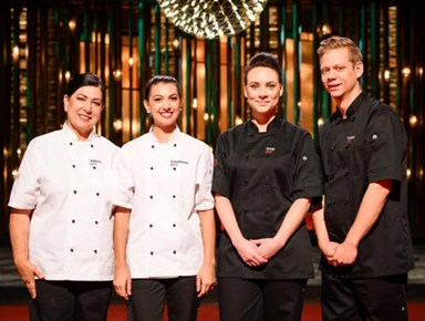How the My Kitchen Rules Australia winners celebrated