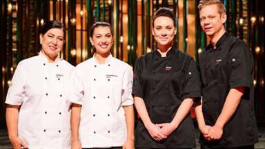 How the My Kitchen Rules Australia winners celebrated