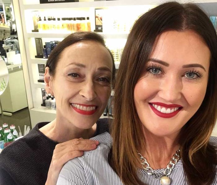 *Simply You* Beauty Editor Elise and Rose-Marie