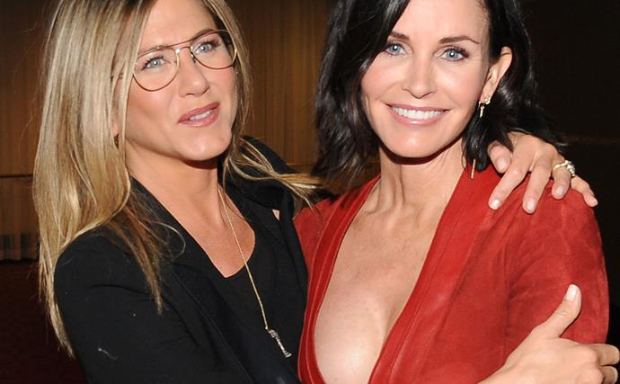 Jennifer Aniston and Courtney Cox are long-standing best friends.