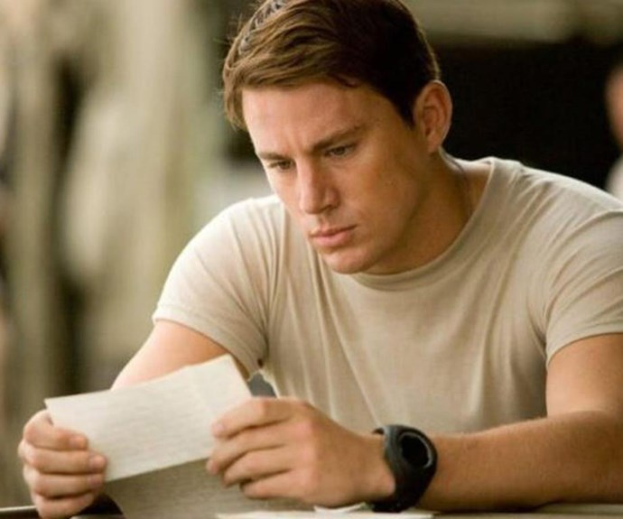 Channing Tatum has written a touching letter to his young daughter.