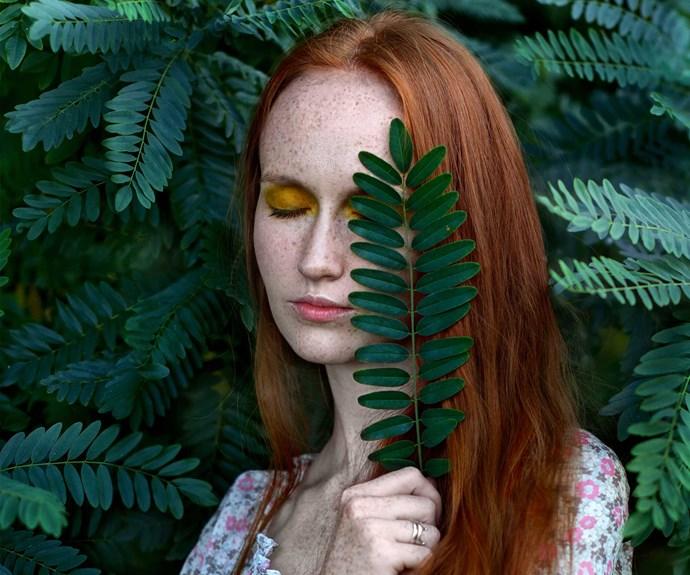 Leafy Lady/Organic Poison Ivy