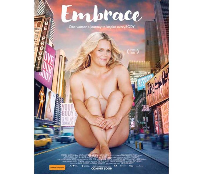 Taryn's movie *Embrace* is available at some dvd stores and online.