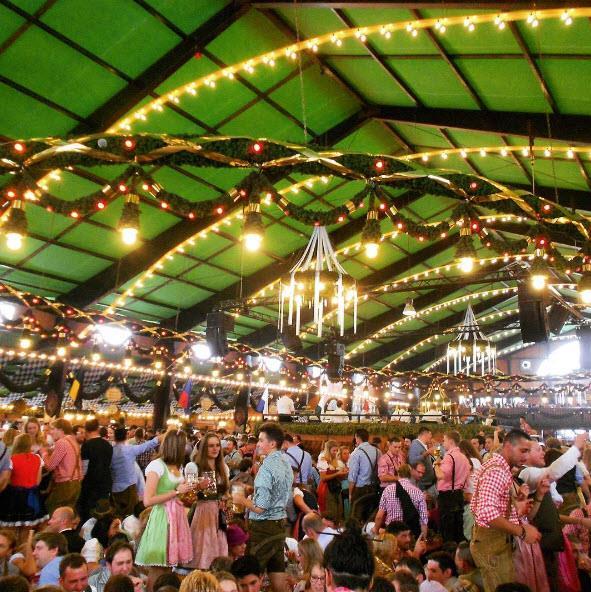 10.Oktoberfest, Bavaria, Germany. Tagged 2,262,885 times.