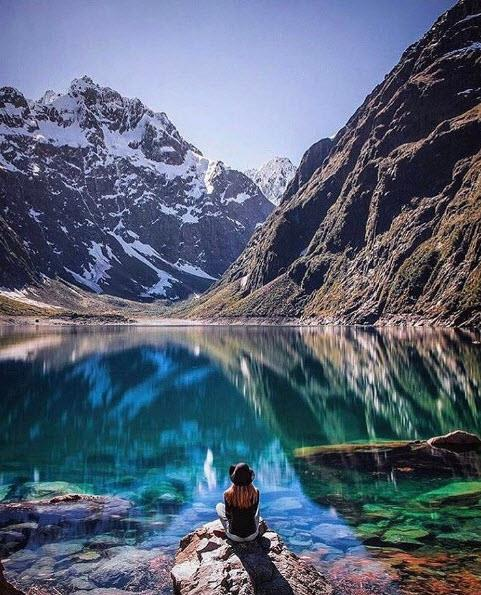 39.Fiordland National Park, New Zealand. Tagged 570,194 times.