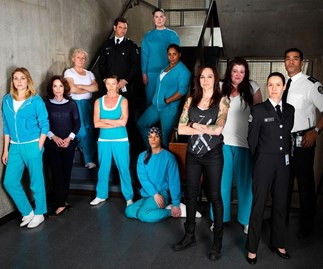 Cast of television drama Wentworth
