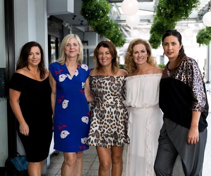 Kamilla Anderson, Gillian WEstbrooke, Beth Morris, Frances Bostock, Leah Tawhai