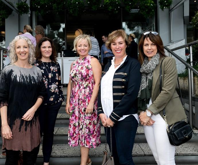 Juliet Kirk, Kirsty Vincent, Denise Pollard, Jo wood, Vicky Joyce
