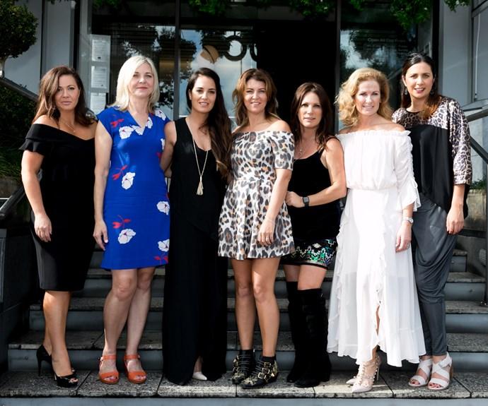 Kamilla Anderson, Gillian Westbrooke, Arna Suttie, Beth Morris, Carmen Bird, Frances Bostock, Leah Tawhai
