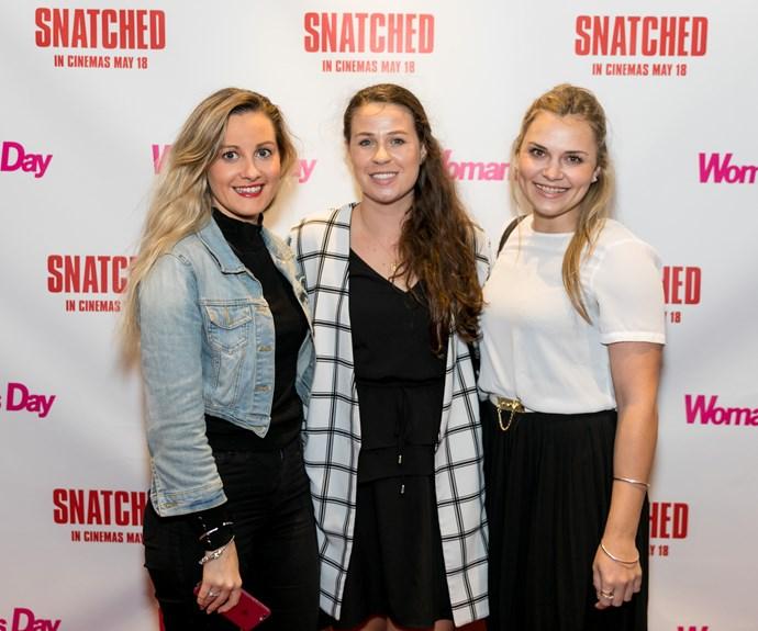 Natasha McDonald, Olivia Morgan, Grace Jackson