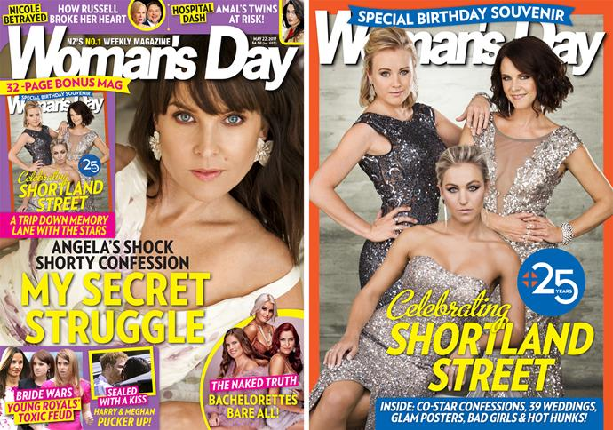 This week, *Woman's Day* is celebrating *Shortland Street's* milestone with a special cover and birthday booklet.