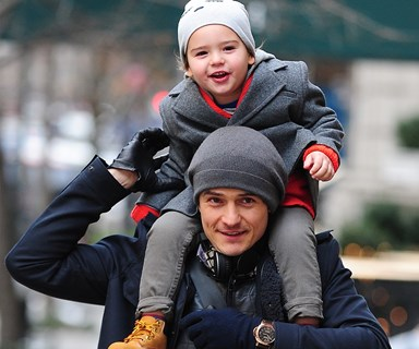 """Orlando Bloom pens emotional tribute: """"My son opened my heart"""""""