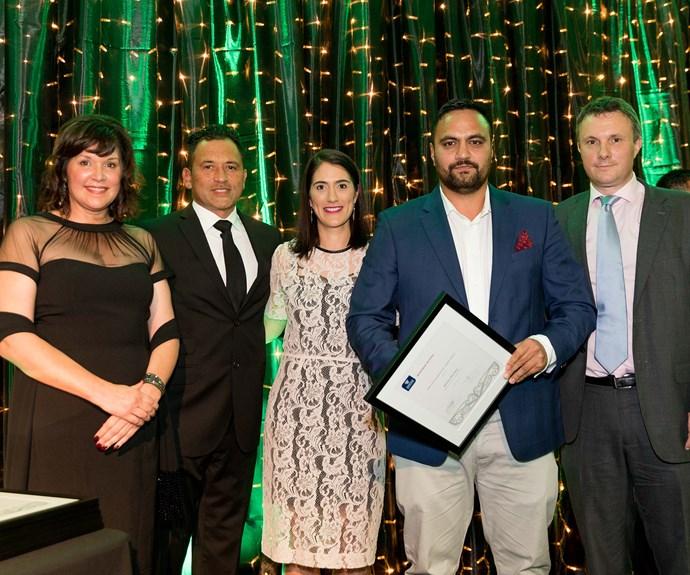 Bailey Mackey, winner of the inaugural Māori Entrepreneurial Leader Award