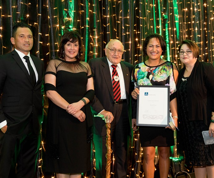Blanche Morrogh, winner of the Young Māori Business Leader Award