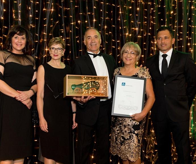 Mavis Mullins, winner of the Outstanding Māori Business Leaders Award