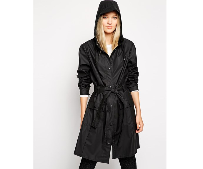 [Rains jacket, $215, from Smith & Caughey's.](https://www.smithandcaugheys.co.nz/shop/brands/rains/curve-jacket)