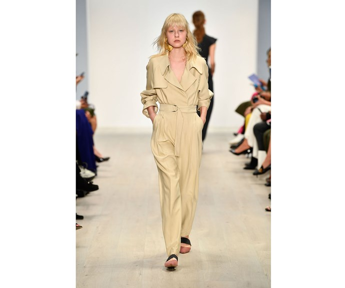 **The new trench** at Bianca Spender.