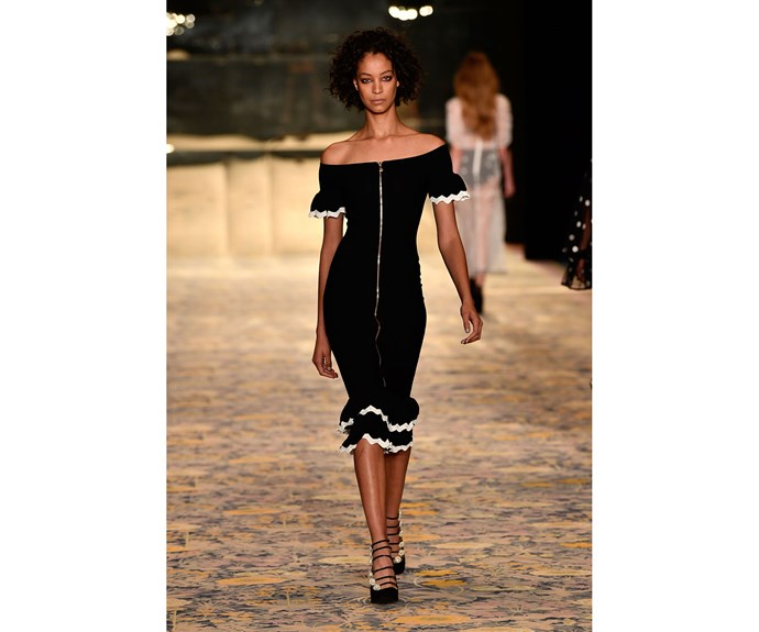 **Off the shoulder** at Alice McCall.
