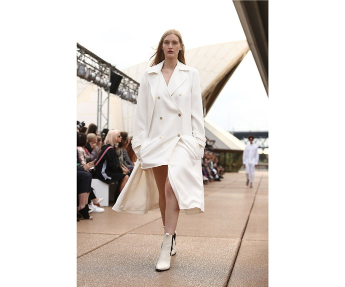 **The new trench** at Dion Lee.