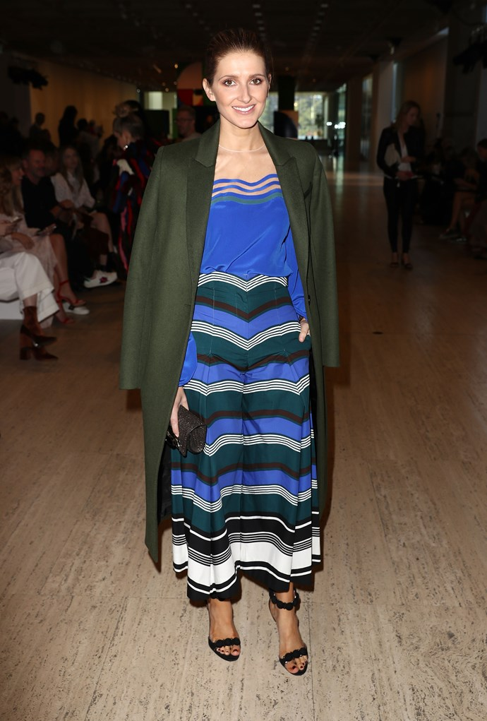 Kate Waterhouse in Fendi at the Ginger & Smart show.