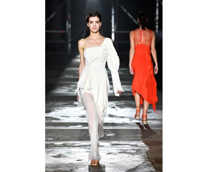 **Little white dress** at Kitx.