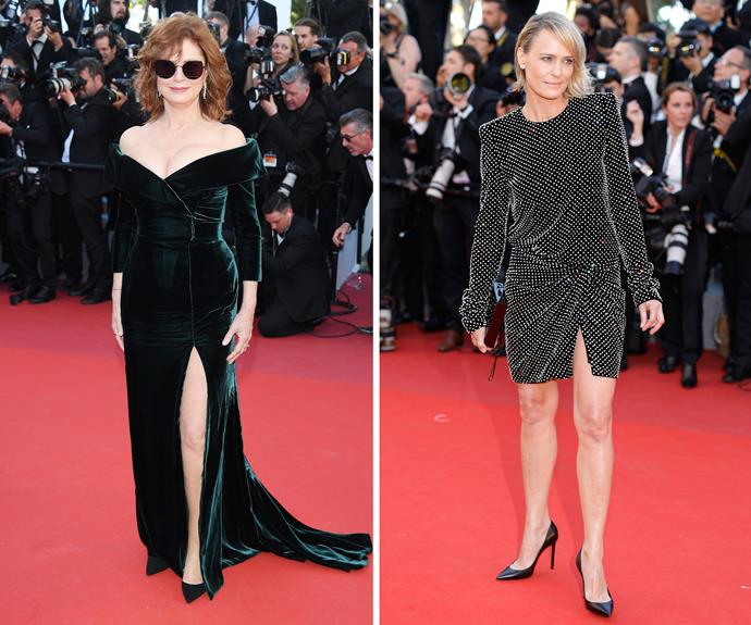 Susan Sarandon and Robin Wright both wowed on the red carpet.