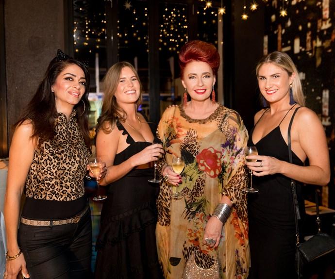 Nasim Pourian Far, Lily McManus, Fiona Tarlton, Hannah Howley