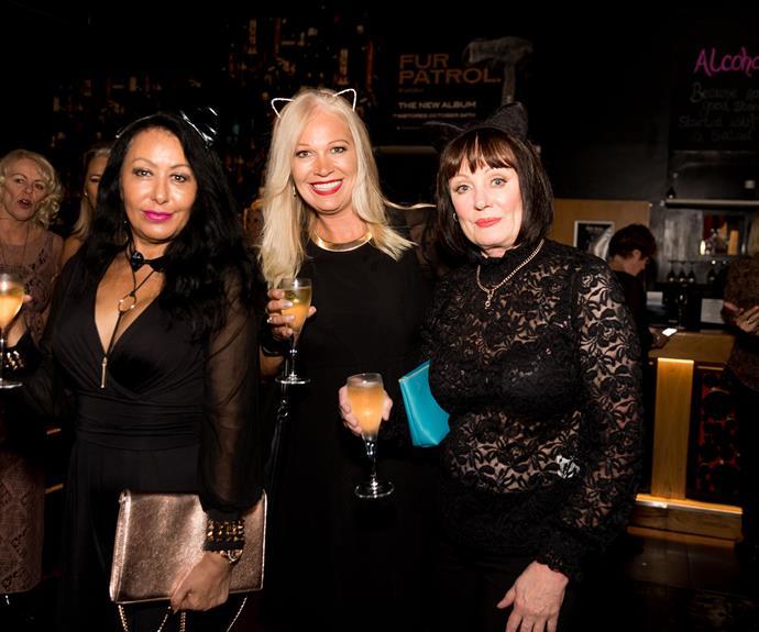 Helen Turner, Catherine Layton, Barbara New