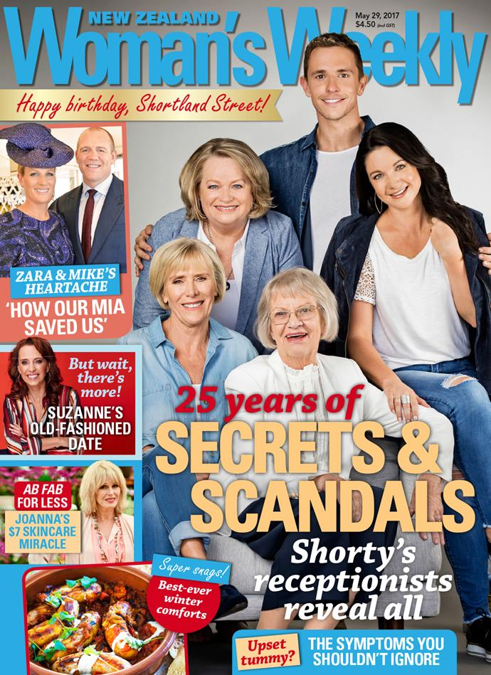 For more from *Shortland Street's* receptionists - past and present - see this week's issue of *New Zealand Woman's Weekly*.