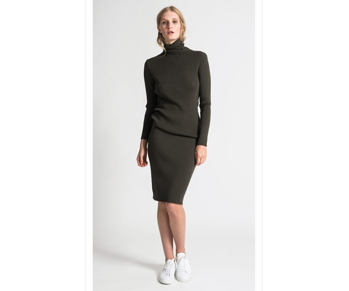 Skirt, $389, by [Juliette Hogan.](https://juliettehogan.com/collections/bottoms/products/klara-rib-knit-pencil-skirt-merino?variant=34058938830)