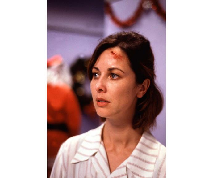 **Carmen Roberts: played by Theresa Healey, 1993 to 1995** A former prostitute and drug addict, the witty nurse became a beloved character who won the lottery on a dead patient's ticket and later dated social worker Guy Warner. Soon after, they welcomed daughter Tuesday, a truck crashed into the clinic and Carmen was hit, but she insisted she was fine. In a shocking December 25 episode, she accepted a proposal from Guy only to collapse and die from a brain haemorrhage. Worst Christmas ever!
