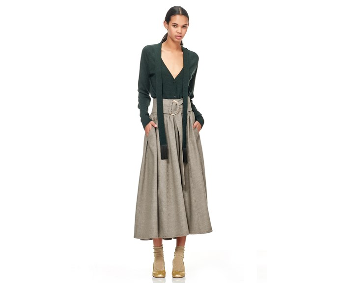 Skirt, $599, by [Kate Sylvester.](http://shop.katesylvester.com/estore/style/117k302.aspx?c=1522)