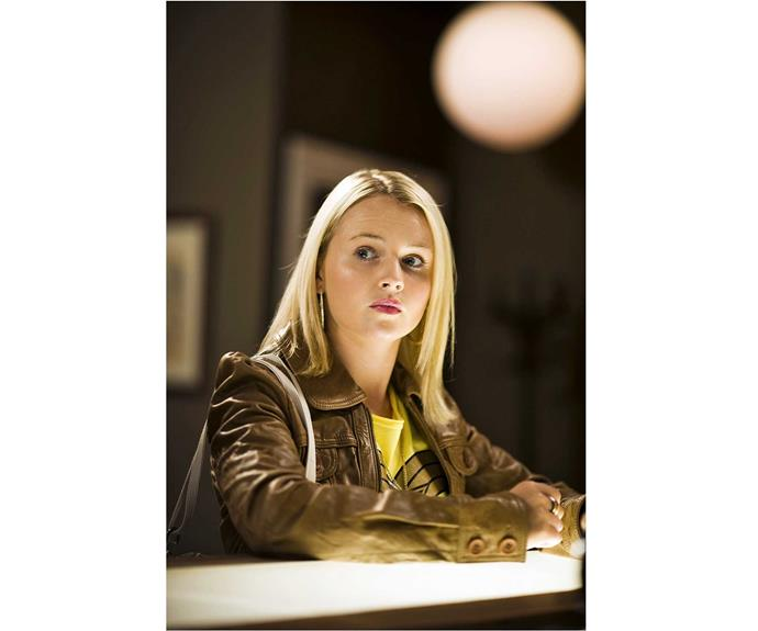 **Sophie McKay: played by Kimberley Crossman, 2006 to 2012** The trendy teen blogger lost her virginity to sexually confused Nate Adamson, but it turned out he had a crush on her brother Hunter. After a one-night stand with a paraplegic, Ferndale High head girl Sophie dated Daniel Potts before beginning a secret affair with older man Kieran Mitchell, who was almost arrested for murder on their wedding day in 2010! When Kieran died after falling off a cliff, his widow briefly reunited with Daniel before leaving town to explore the globe.