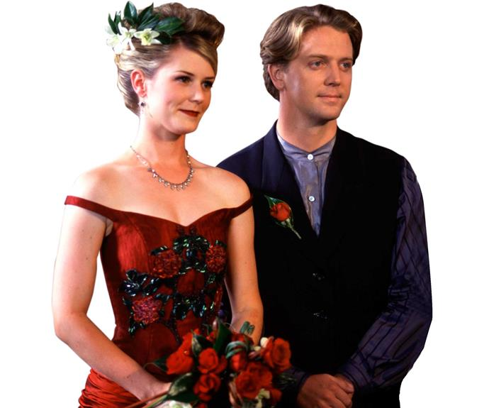 **Tiffany & Chris: February 14, 1996** After his first wedding day ended in tears, Chris Warner hit the jackpot with Tiffany Pratt (Alison James). But it all went haywire during the honeymoon. Tiffany gave her air ticket to Chris' brother Guy (Craig Parker), whose daughter needed an operation. By the time she joined her new husband overseas, he was getting friendly with his ex Alison.