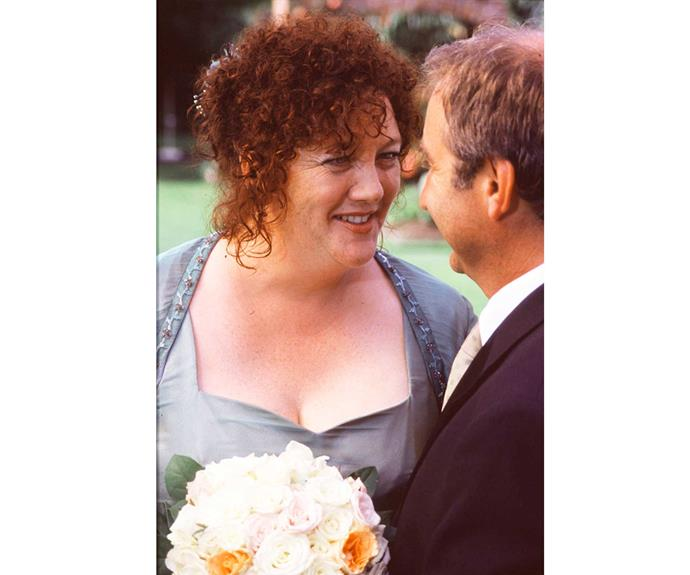 **Moira & Dean: April 7, 2000** Talk about a couple with history ... Decades before they married, Dean Cochrane (Greg Johnson) landed Moira Crombie (Geraldine Brophy) in jail for armed robbery! But Dean turned over a new leaf and the colourful couple made it down the aisle without too many hitches – although the honeymoon was cancelled when Dean's daughter Erin (Emma Lahana) was expelled from school.