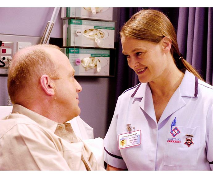 **Max & Judy: June 27, 2003** Certain she was destined for a life alone, uptight nurse Judy Brownlee (Donogh Rees) found love with Max Henley (Peter Hambleton). But in a cruel twist of fate, Max was diagnosed with an inoperable brain tumour. The couple married in a moving hospital ceremony, but Max fell unconscious and died moments later.
