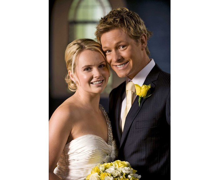 **Sophie & Kieran: February 10, 2010** On the day of their controversial nuptials, Sophie McKay (Kimberley Crossman) and Kieran Mitchell (Adam Rickitt) had some unwanted guests – the police! They rightfully suspected the groom had been driving the car that killed Morgan, but Kieran's brother took the rap.