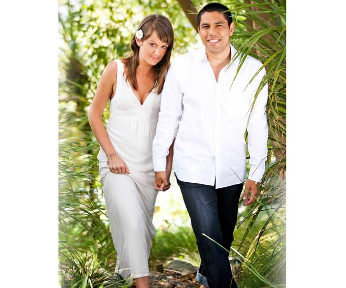 **Tracey & Scotty: February 14, 2011** After losing his pregnant wife to kidney failure, Scotty found happiness with Tracey Morrison (Sarah Thomson). But before they made it down the aisle on Valentine's Day, Scotty – who was suffering from post-traumatic stress disorder – tried to strangle his bride with her wedding dress, thinking she was an imposter!