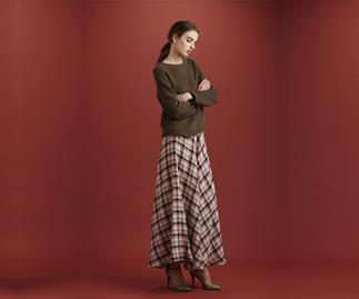 Ingrid Starnes warm skirt.