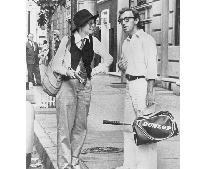 Diane Keaton's *Annie Hall* changed the game when it comes to masculine and laid-back dressing.