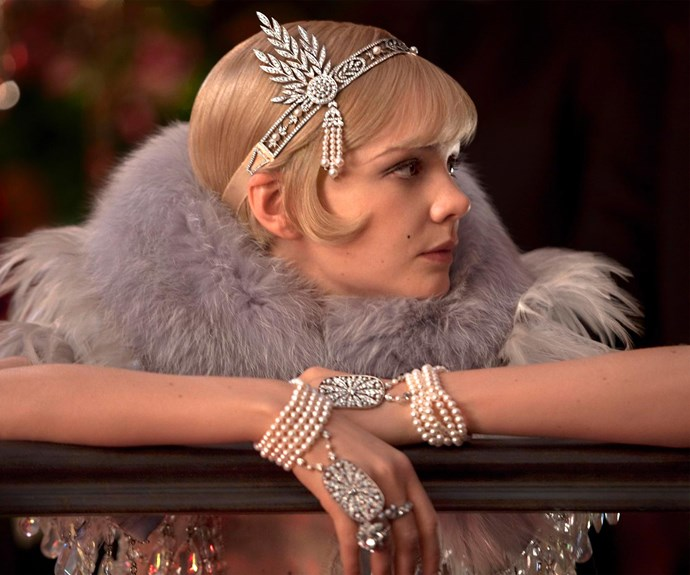 Carey Mulligan's Diasy in *The Great Gatsby* is the height of 1920s glamour, or at least how we imagine it to have been.