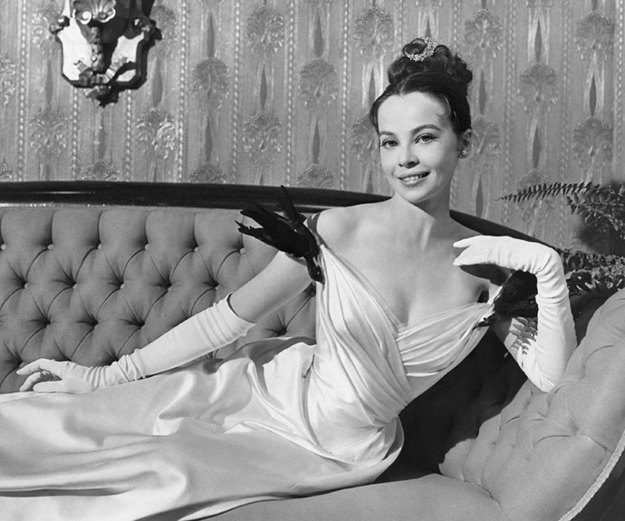 Leslie Caron's dresses in *Gigi* won their own Oscar, and we can see why.