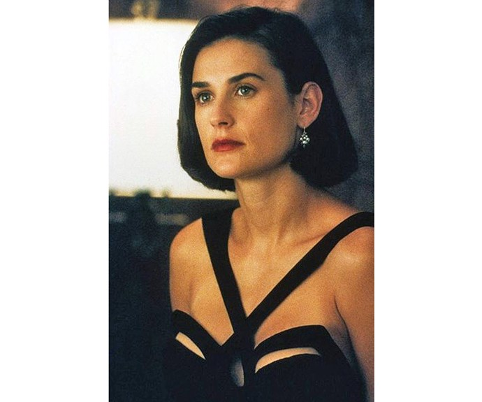 Demi Moore's Diana Murphy in *Indecent Proposal* wears the kind of 90's fashion moments we want to remember, rather than hide in the back of our wardrobes.