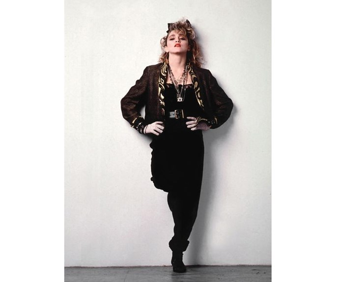 Madonna's Susan in *Desperately Seeking Susan* encapsulates 80s fashion, in the best possible way.