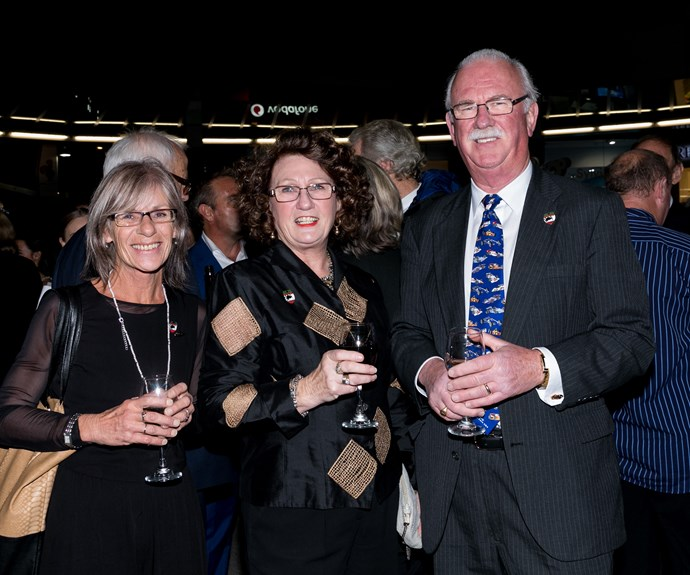 Debbie Hunter, Jan McLaren, Mark Donaldson