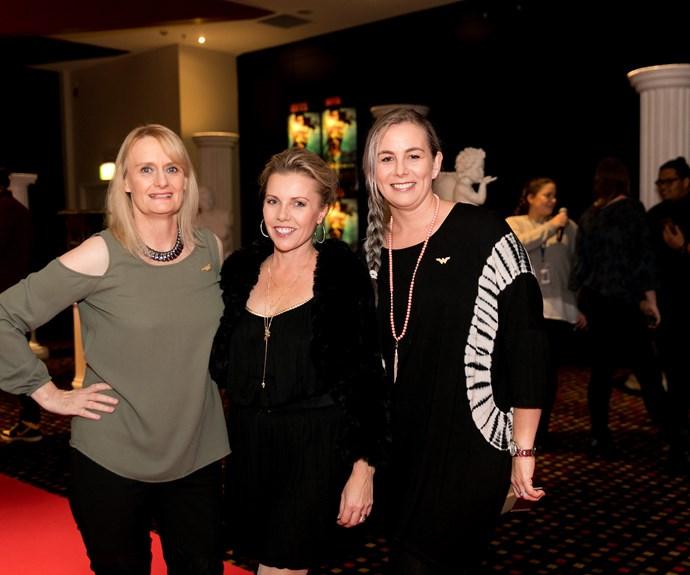 Wendy Lester, Deb Byrnand, Kelly Stuart