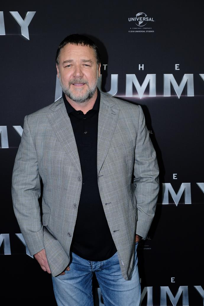 **Russell Crowe** The Aussies have well and truly claimed this talented actor, but Russell is actually a New Zealand citizen! From acting and film producing to being a musician, his list of credits are seemingly endless. He is best known for his roles in *A Beautiful Mind*, which he received multiple awards for, *Gladiator* and *Les Miserables*.
