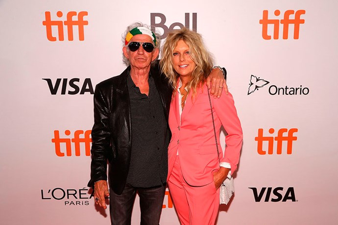 Keith Richards has been married to former model Patti Hansen since 1983. Photo: Getty Images